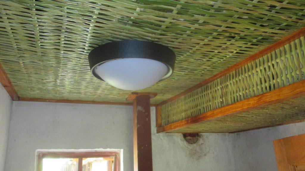 Reed Ceiling Interior Design Project at Wagga Gardenex Botswana
