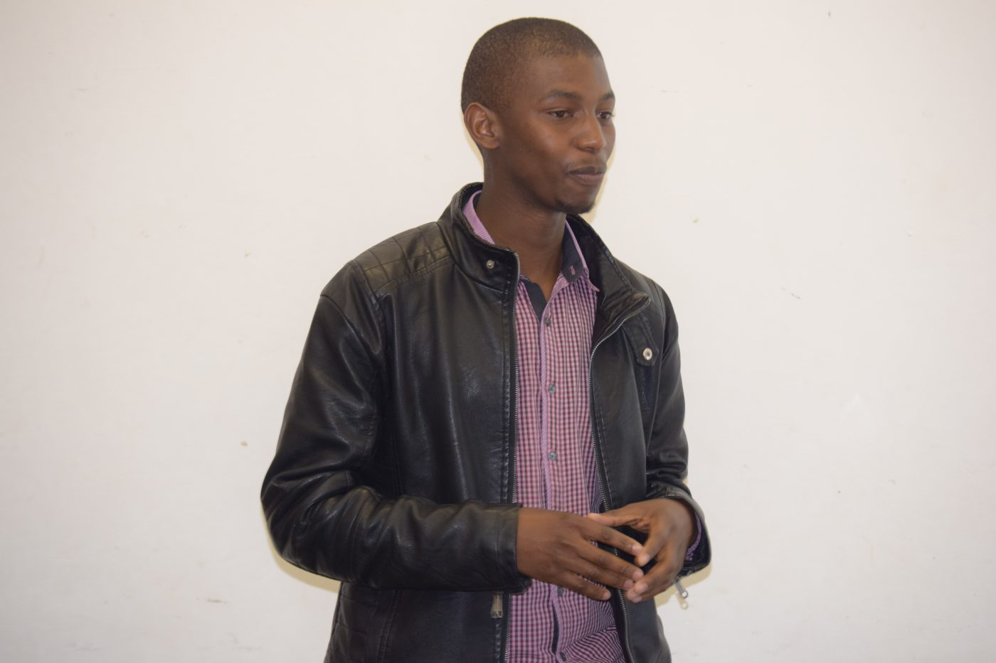 Nvulane Nhlapo leading the session