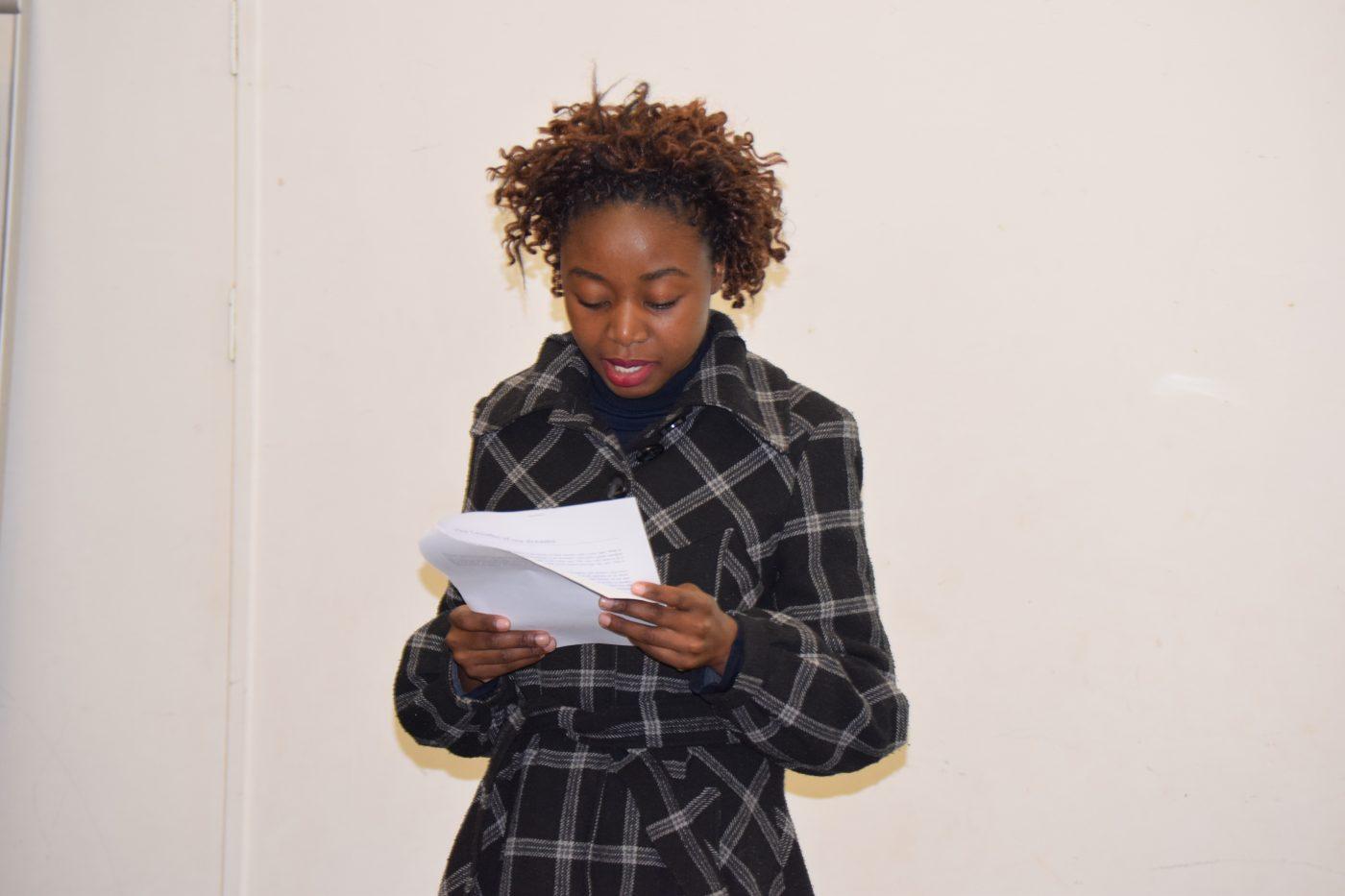 Relebohile Sera reading 3rd prize winner essay